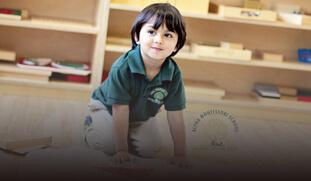 montessori school social creatives template
