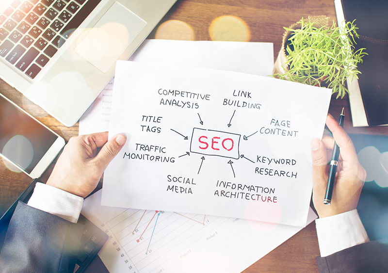 What are the main responsibilities of an SEO Consultant