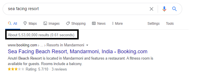 Using Quotation Marks for EXACT SEARCH RESULTS